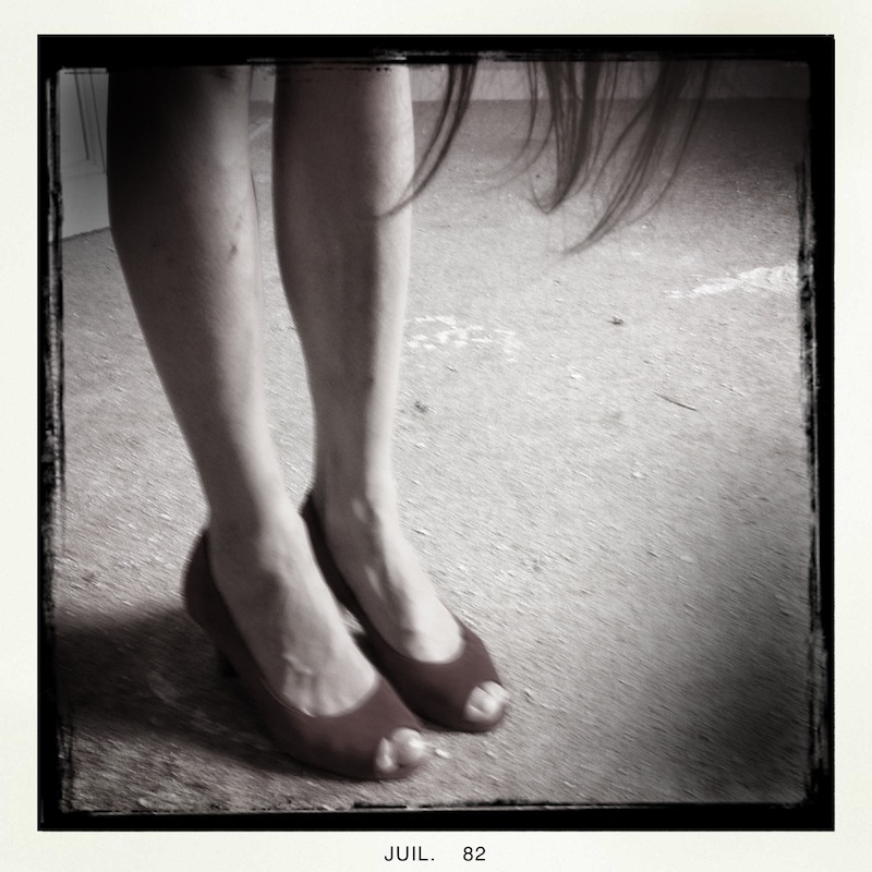 Red shoes, 2012, IPHONE 4S