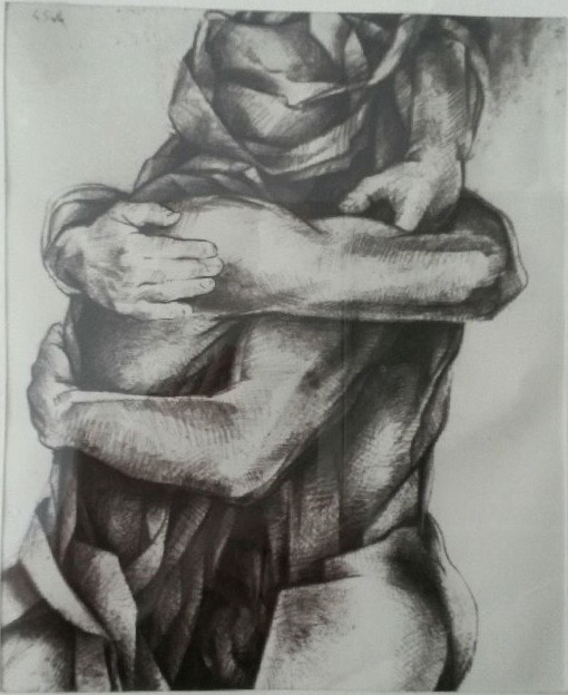 Charles Louis La Salle Etreintes 1980.205x165