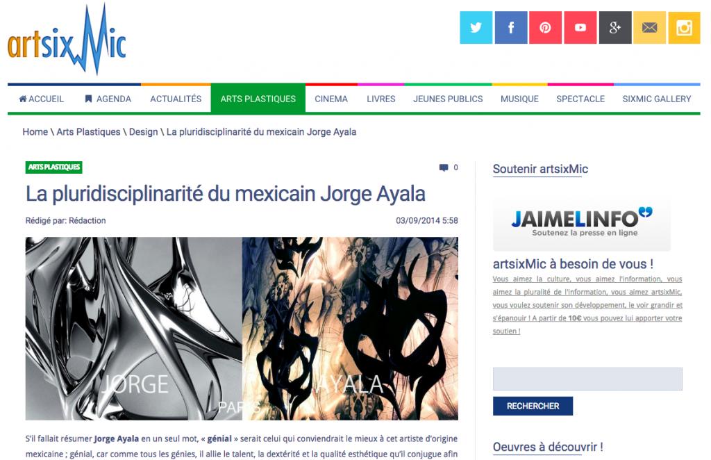 Artsixmic Jorge Ayala 3:9:2014