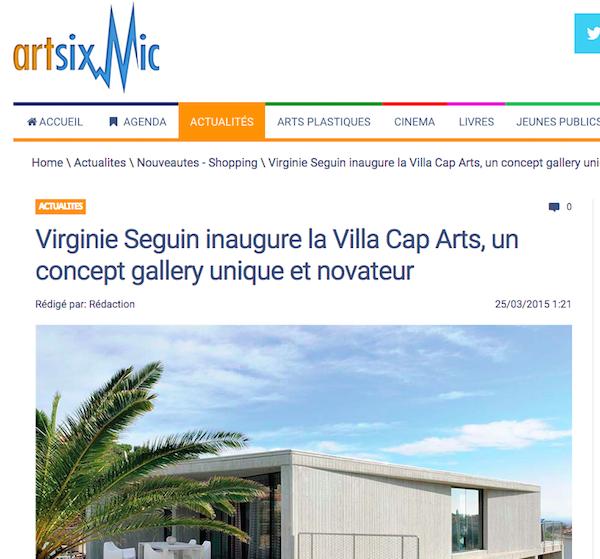 Artsixmic Villa Cap Arts 25:3:2015