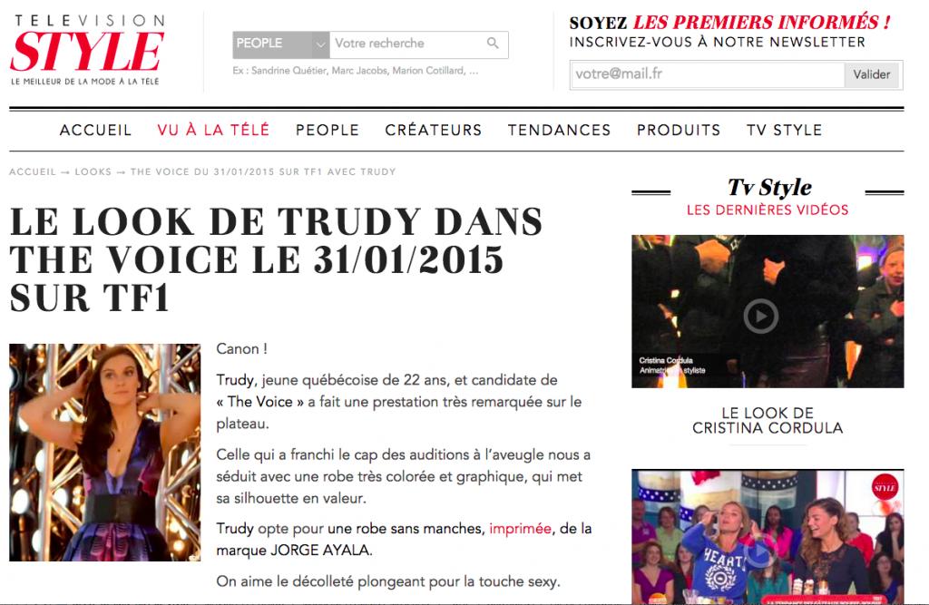 Style TV Jorge Ayala 31:01:2014