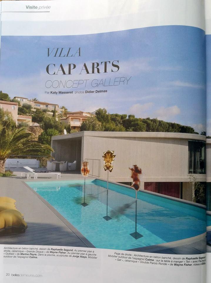 Villa Cap Arts Belles demeures Visite privée juin juillet 2015 par Katy Masseret, photos Didier Delmas1