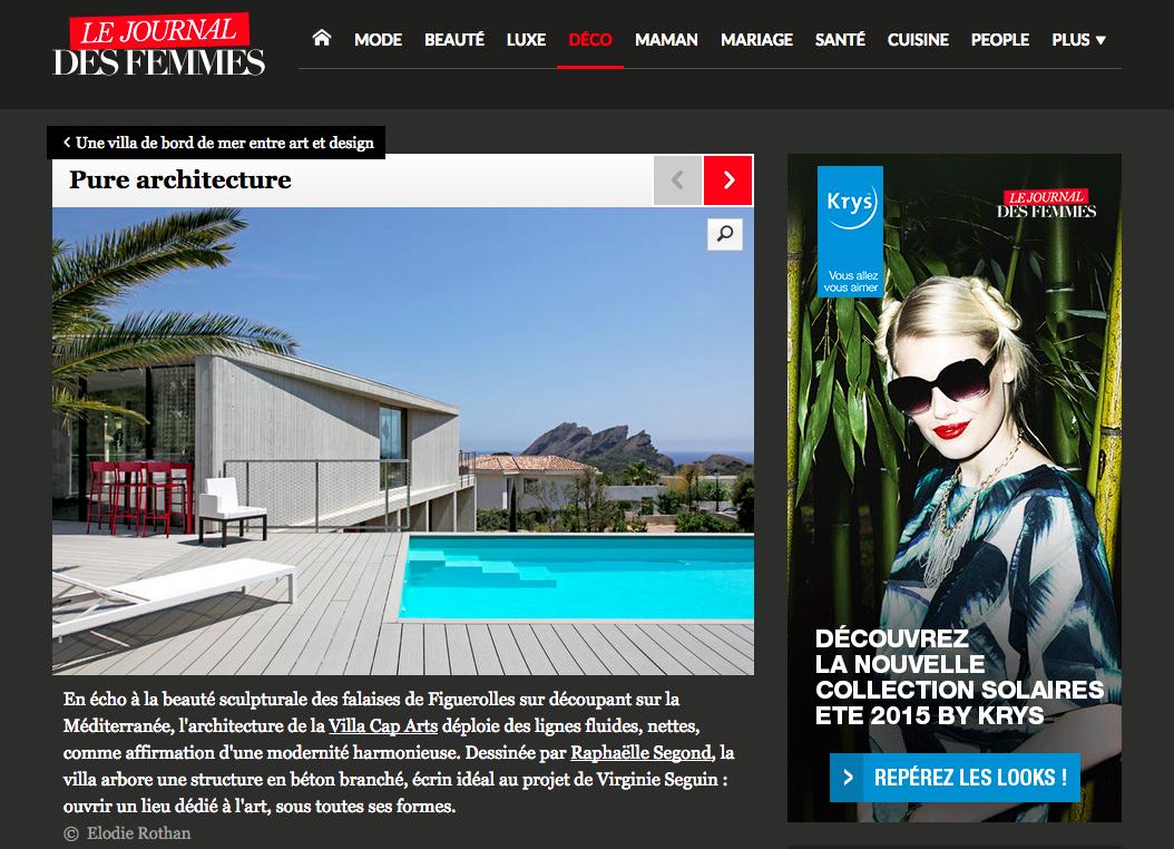 Villa Cap Arts Journal des Femmes1