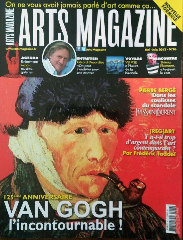 Villa Cap Arts dans Arts Magazine n°96 - Mai Juin 20150